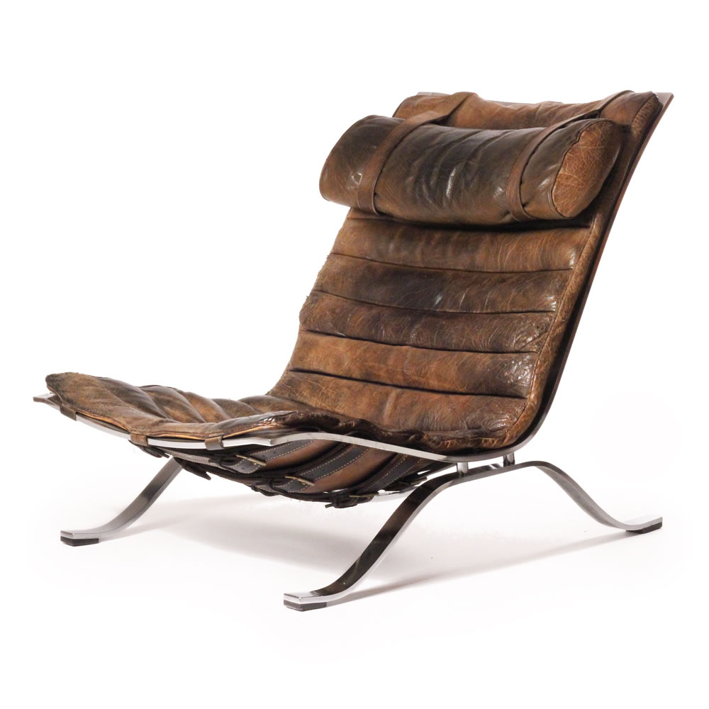 20th century furniture ari lounge chair arne norell for Modern design lounge chairs